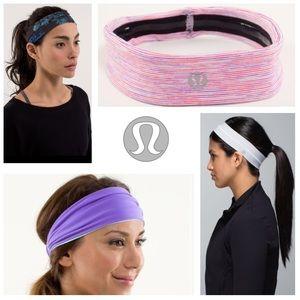 BUNDLE of 4: lululemon athletica headbands